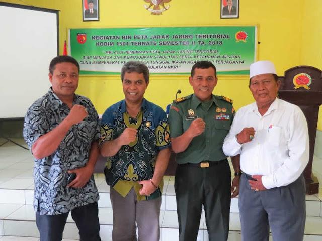 Bambang Sugiyarta Pimpin Pembinaan Jaring Teritorial Kodim Ternate