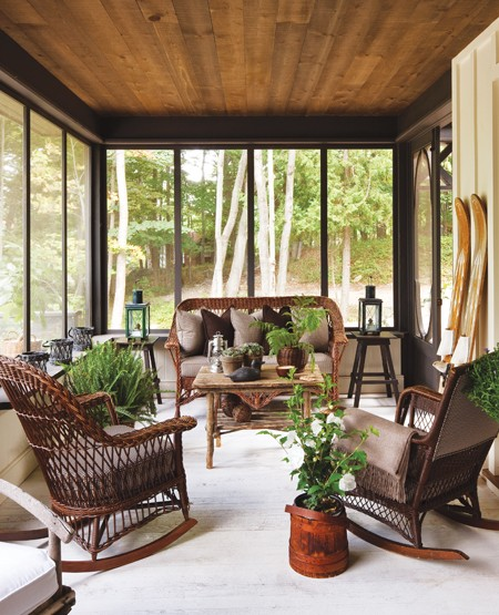 Rustic Sunroom: Conservatories And Sunrooms