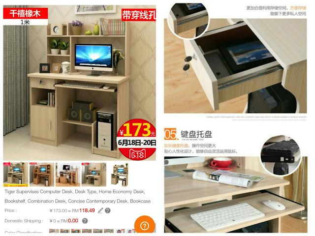 SGShop computer desk