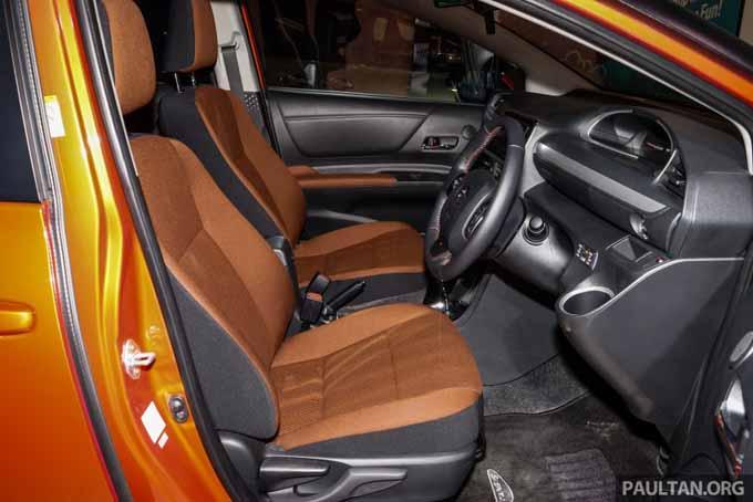 Gambar Ruang Dalam Toyota Sienta MPV Kompak 2016
