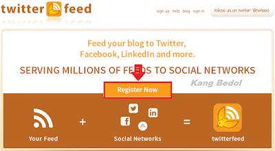 Cara Share Artikel Blog Ke Facebook / Twitter Secara Otomatis