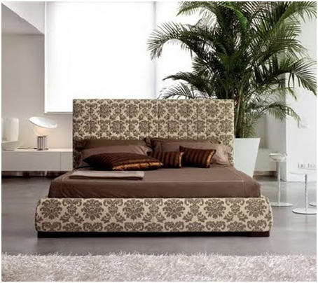 UPHOLSTERED BEDS BROWN - MODERN BEDROOMS - TAPESTRY FOR DORMS