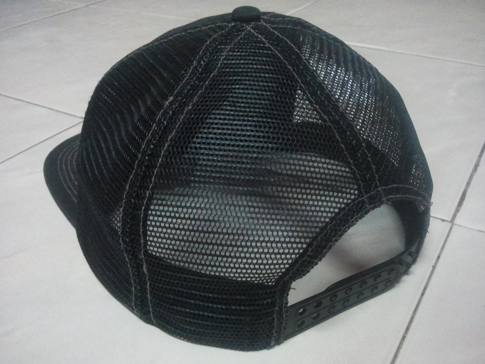d5465632b32 (WL-1976) Logo Embroidered Mesh Snapback By Thrasher Magazine Headwear.  Price   Sold Color   Dark Gray Black