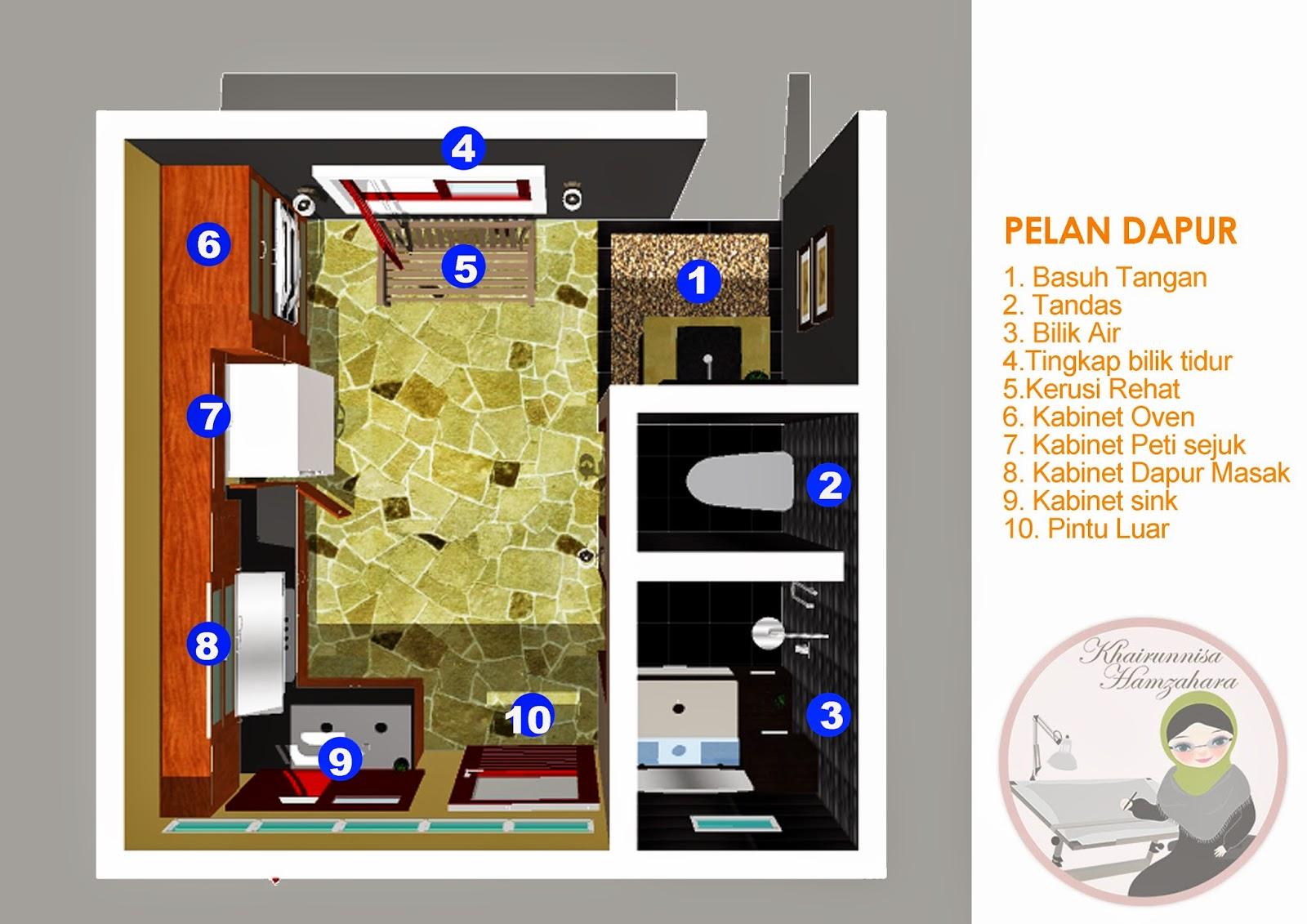 Rekabentuk Ubahsuai Dapur Dari Rumah Kos Rendah Ke A Resort