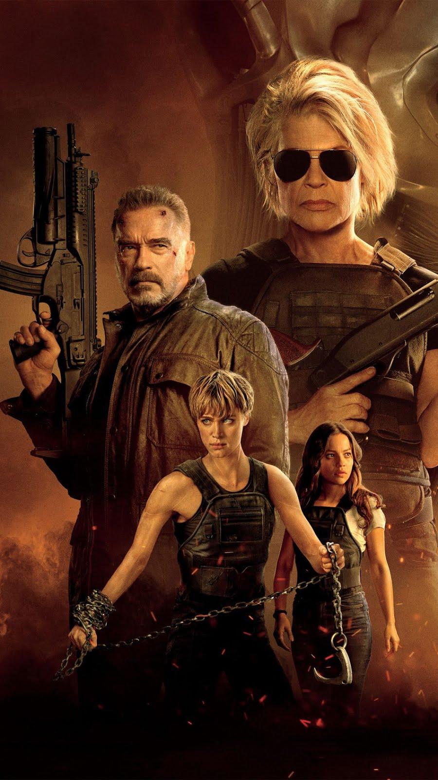 Terminator Dark Fate 2019 (Hindi Subbad) 720p HDCAM 900MB Free Download