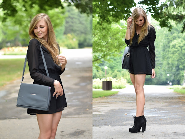 |OUTFIT| Black overal