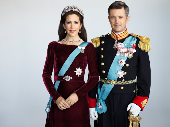 New Photos of Crown Princess Mary and Crown Prince Frederik Of Denmark