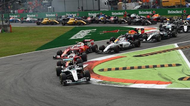 Hasil Balapan GP F1 Monza, Italia : Mercedes Menang Diikuti Ferrari