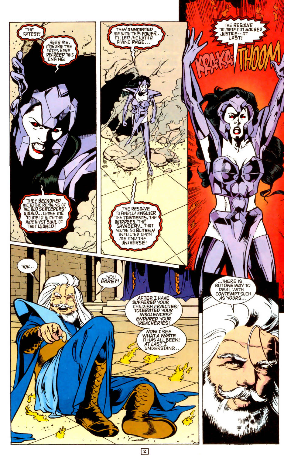 Legion of Super-Heroes (1989) 44 Page 2