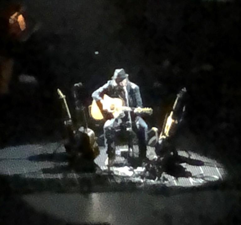 Seth Saith The Freewheelin Neil Young Seemingly Haphazard Set