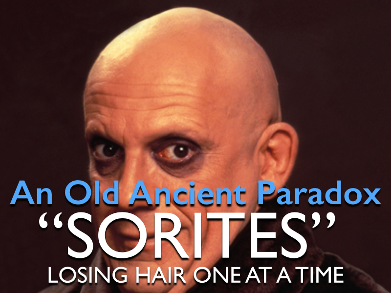 Old ancient paradox