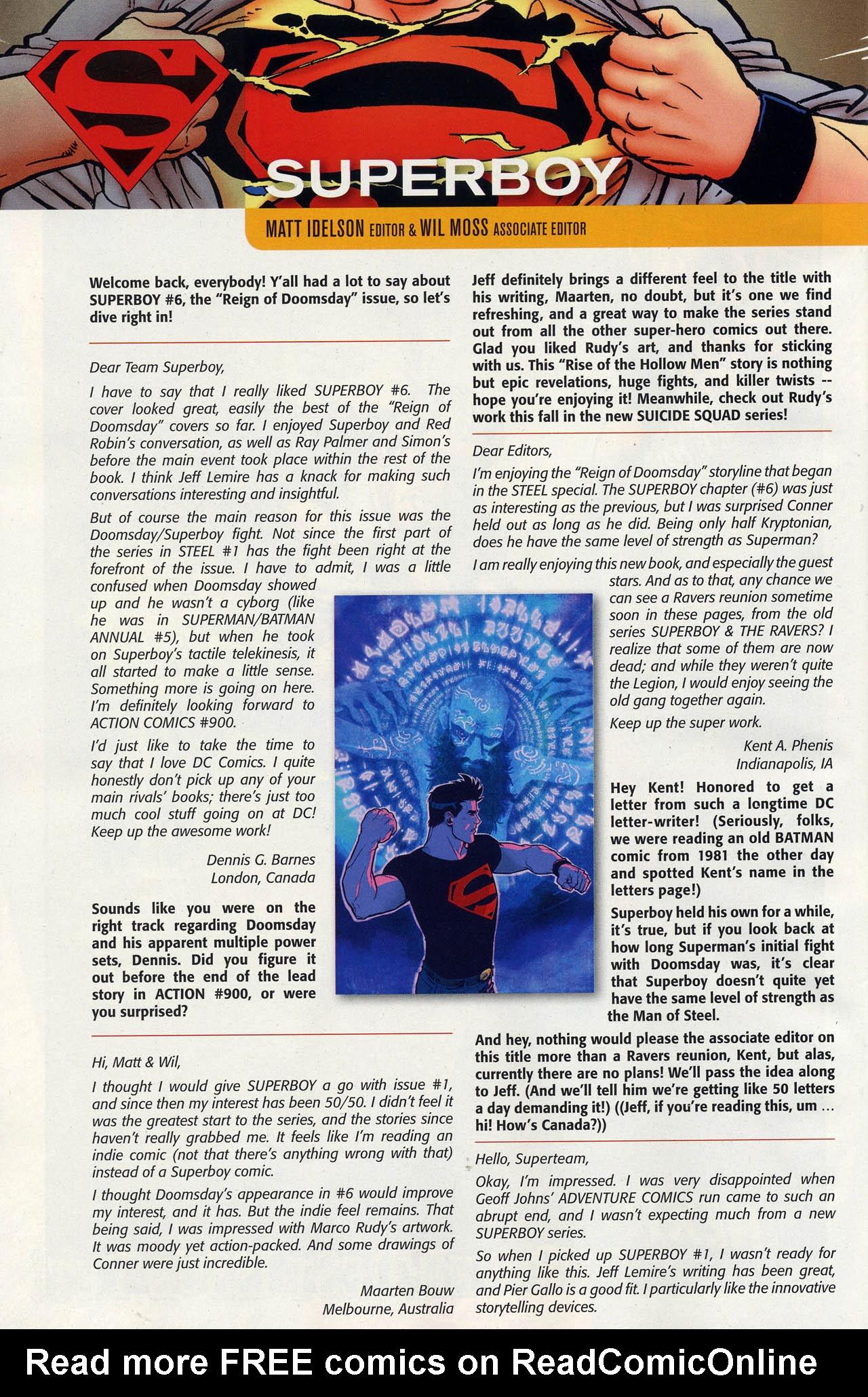 Superboy [I] Issue #9 #9 - English 38