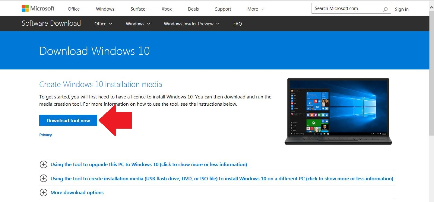 latest version win 10