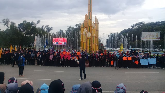 Indonesia Darurat Demokrasi, BEM SI Gelar Aksi