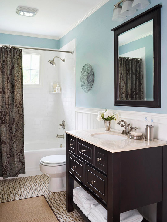 There's nothing like opting for a neutral shade to create a serene atmosphere in a bedroom design. Blue Bathroom Design Ideas | home appliance