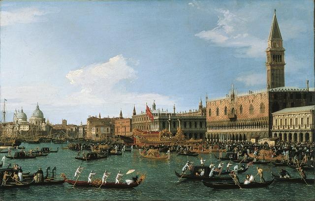 Jedna z nejvýznamnějších benátských akcí již tento víkend, festa della sensa, svátek moře a benátek, benátky průvodce, kam v benátkách, bvenátky památky, co vidět v benátkách, benátky oslavy, bucintoro