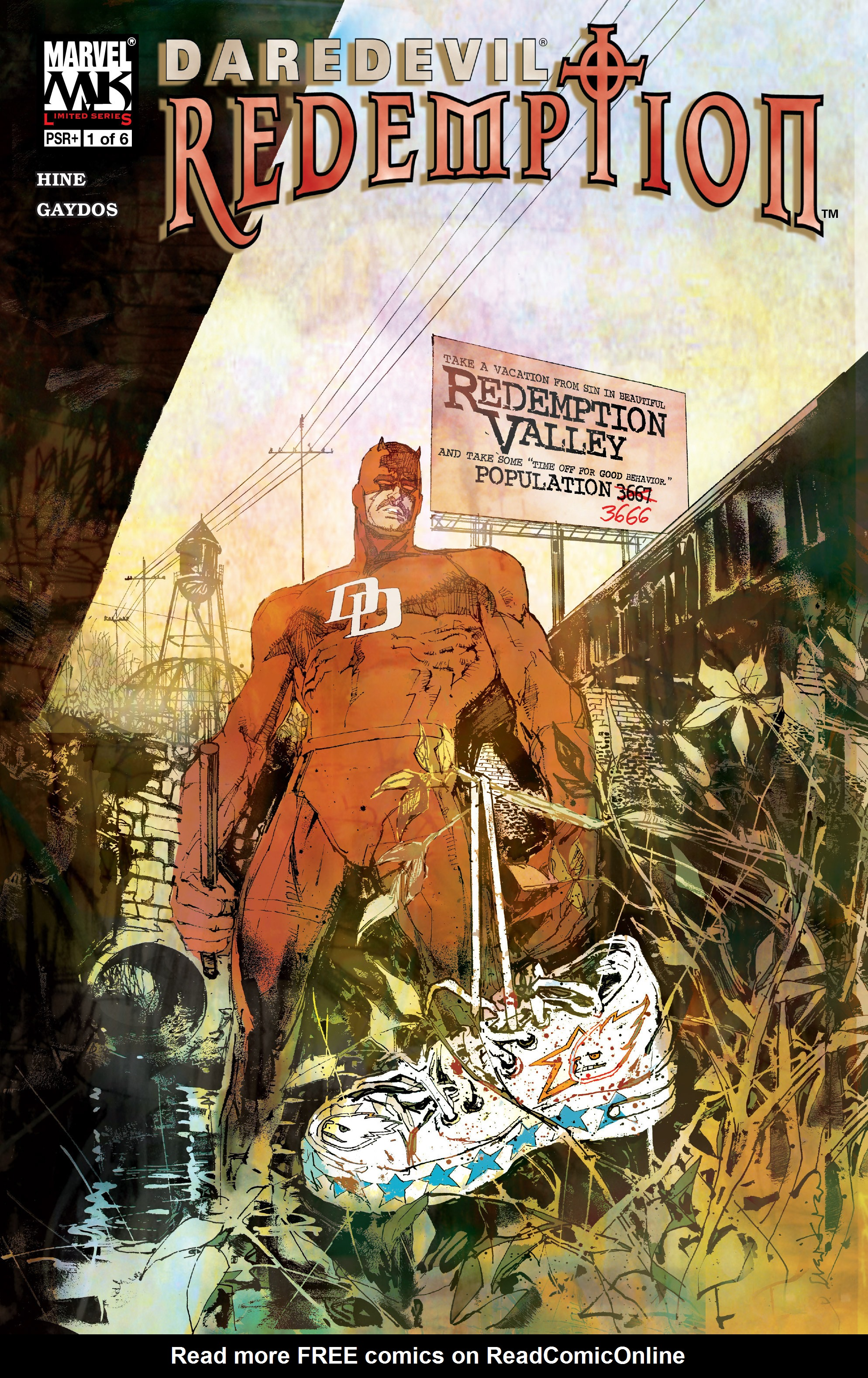 Daredevil: Redemption 1 Page 1