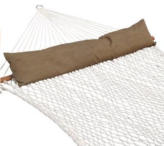Prime Garden Deluxe Cotton Rope Hammock