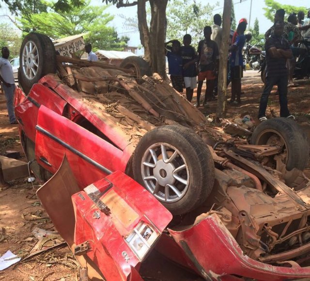 Four ladies perish in Sunyani accident after VGMA jam