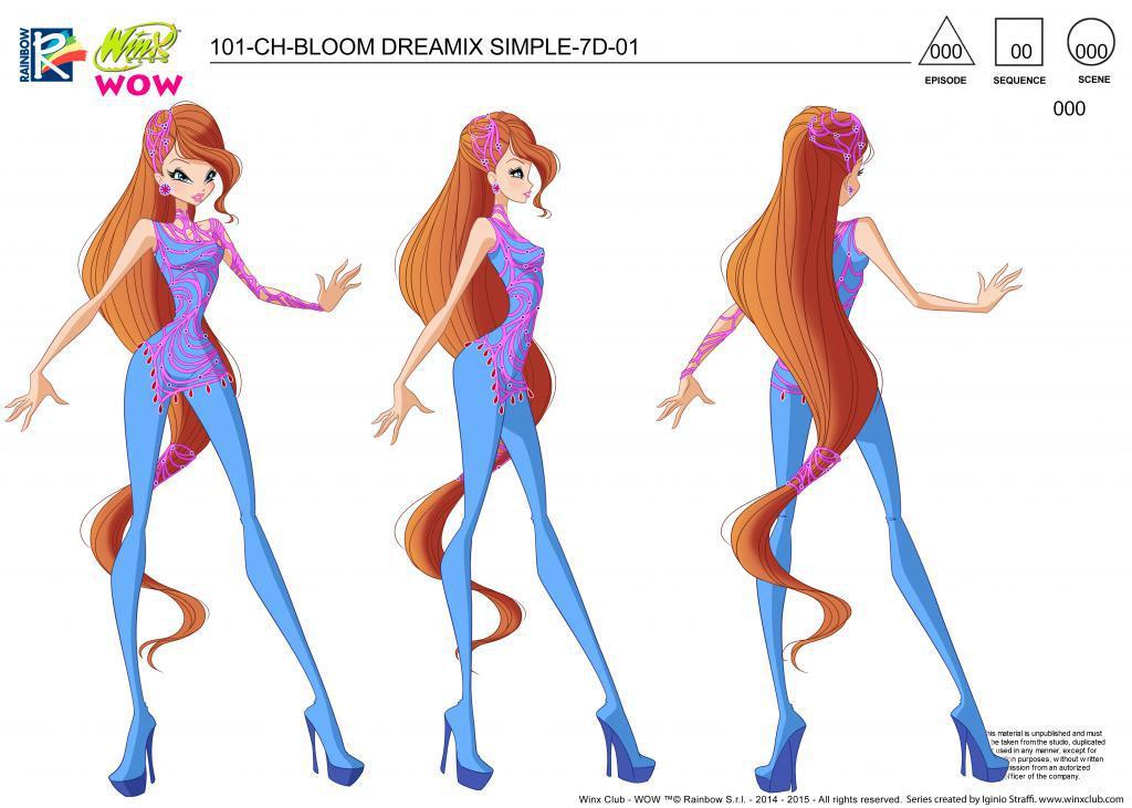 Winx Dreamix Concept Designs