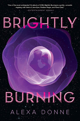 Brightly Burning by Alexa Donne