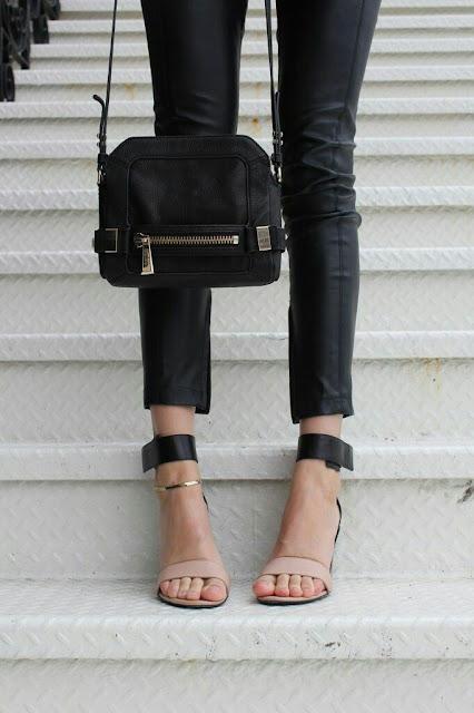 Ankle sandal heel