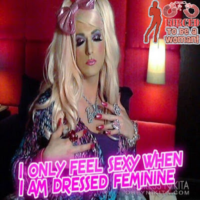Feeling sexy - World TG Captions - Crossdressing and Sissy Tales and Captioned images