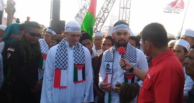 Teuku Wisnu Hingga Irwansyah Ikut Aksi Bela Palestina