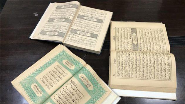 Masya Allah... Tiga Al-Quran Dicetak Era Usmaniyah Ditemukan di Masjid Palestina