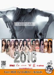 [Play Calendar 2016] รวม 12 นางแบบและวีดีโอโชว์พิเศษ จาก i2Play, Girlie, I'm, Play, G Magazine,