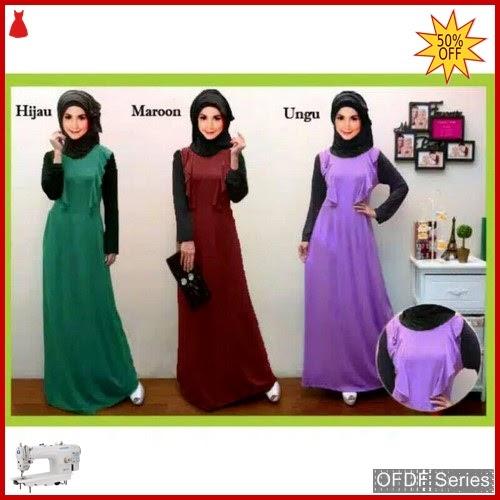 OFDF292 Dress Maxi Dress Gamis Syani Ce BMGShop