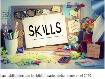 Habilidades de los bibliotecarios para el 2020