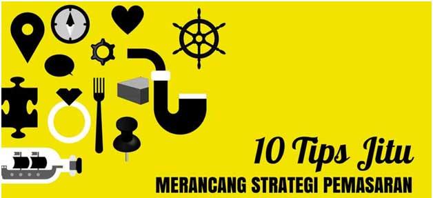 10 Tips Jitu Merancang Strategi Pemasaran Produk