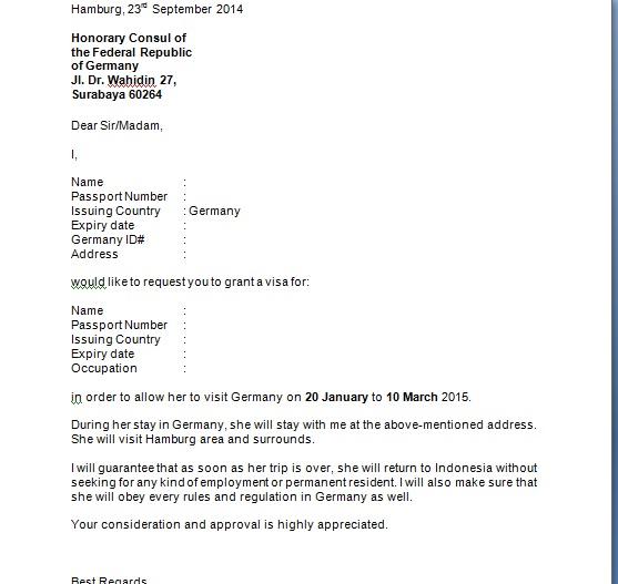 Surat Keterangan Kerja Untuk Visa Australia Usa