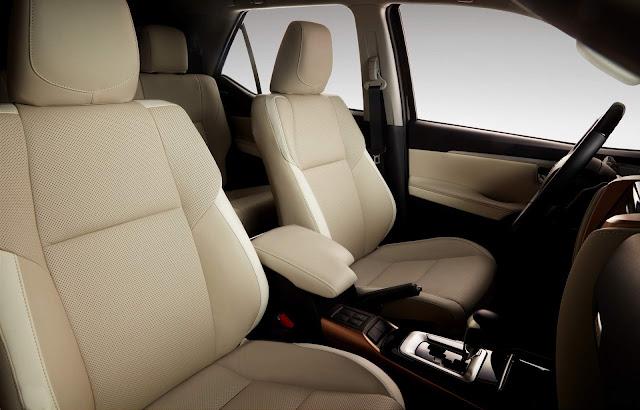 Toyota Hilux SW4 2019 SRX Diamond - interior