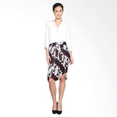 model rok untuk orang gemuk dan pendek