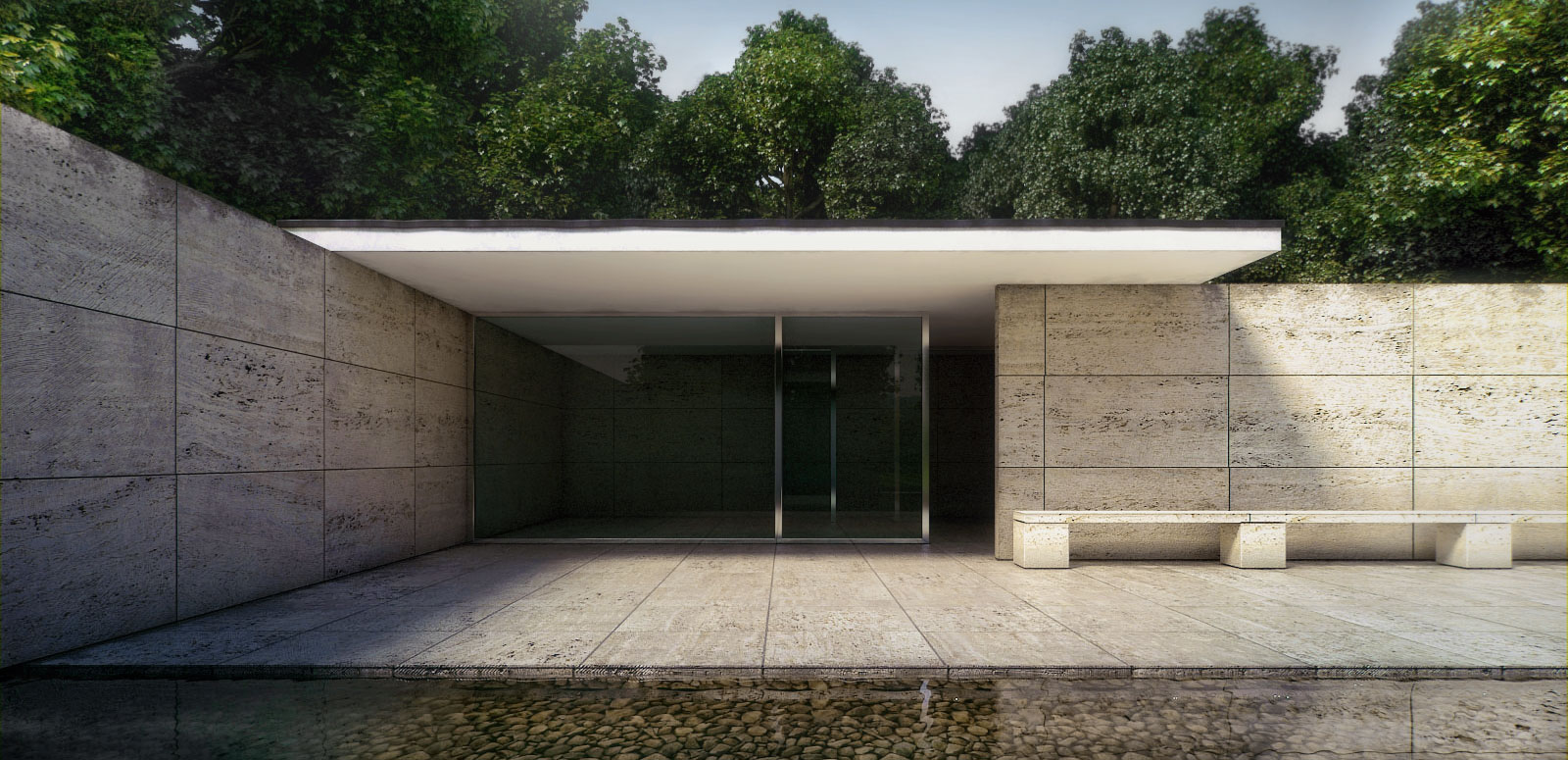 my magical attic barcelona pavilion design by ludwig mies van der rohe 1929 ludwig mies van der rohe 1929