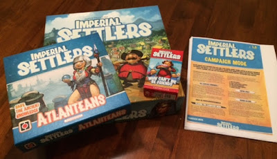 Imperial Settlers with expansions and campaign mode