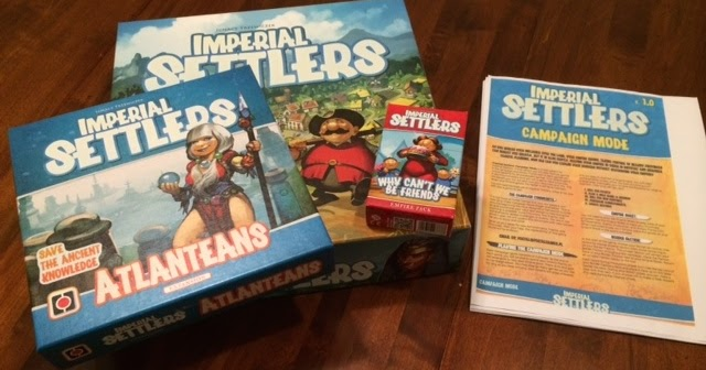 Imperial Settlers Solo Campaign Review