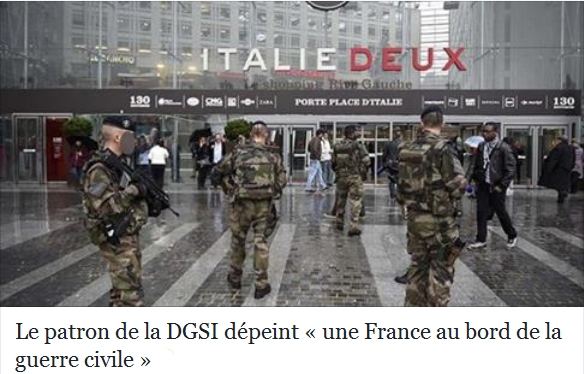 la France au bord d ela guerre civile