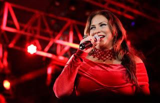 A cantora paraense Fafá de Belém