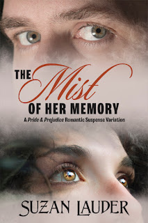 Book cover - The Mist of Her Memory by Suzan Lauder
