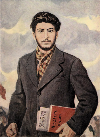 The Hotness of Young Stalin