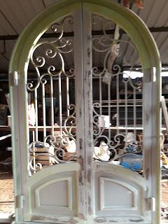 Pintu, Head, Besi, Tempa, Klasik, Rumah, Mewah