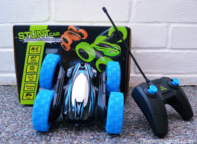 Extreme 360 RC Stunt Double & Side Roll Car