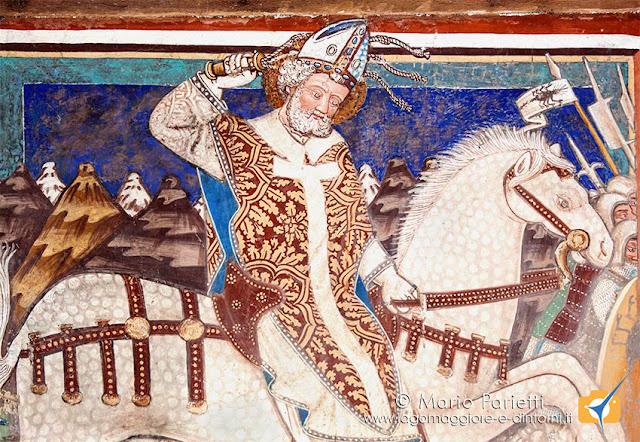 S'Ambrogio a cavallo
