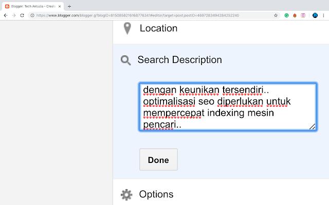 search description seo optimalisasi artikel
