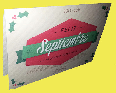 Postal Christmas Agencia Maslow - Feliz Cruso Nuevo