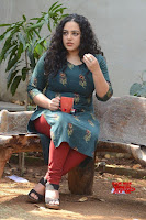 Nithya Menon promotes her latest movie in Green Tight Dress ~  Exclusive Galleries 015.jpg