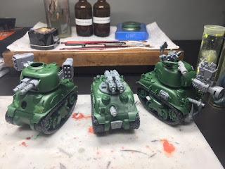 Da Green Skins: Grot Tank